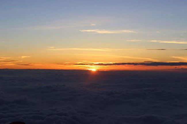 July 2016: Sunrise from Mount FuJi, Japan. Japan Photography Travel Wanderlust ASIA Fuji Mountain Nature First Eyeem Photo