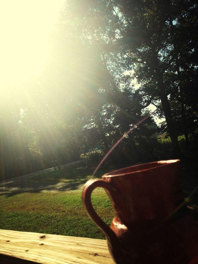 """""""Cafè on a peacefull morning"""" beauty SmlRainbow"""