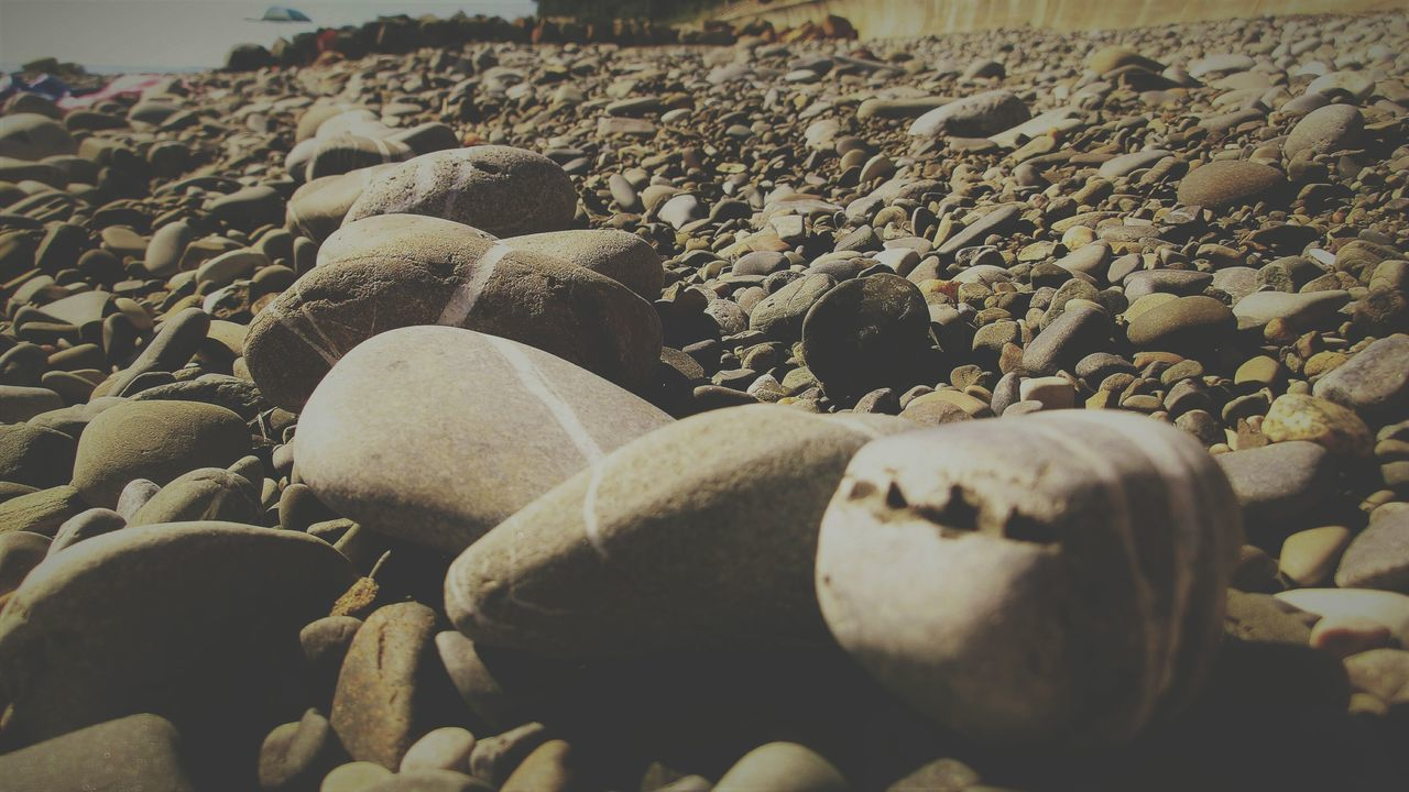 pebble, beach, shore, rock - object, pebble beach, no people, outdoors, sand, close-up, nature, sea, day, water