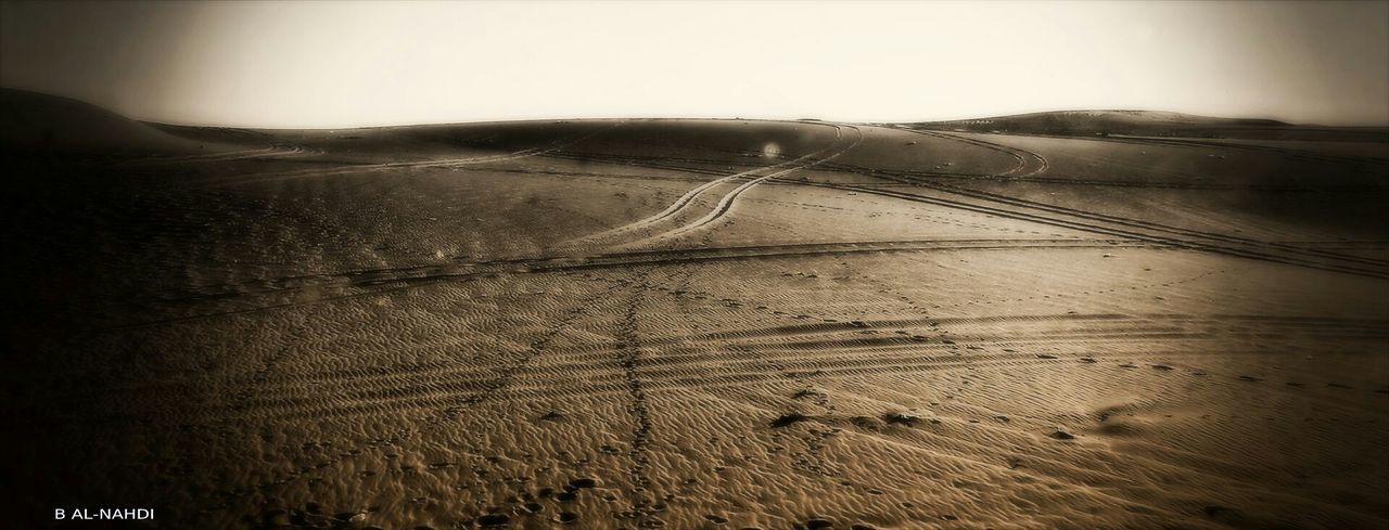 landscape, nature, scenics, road, outdoors, tranquil scene, beauty in nature, day, no people, sand dune, sky