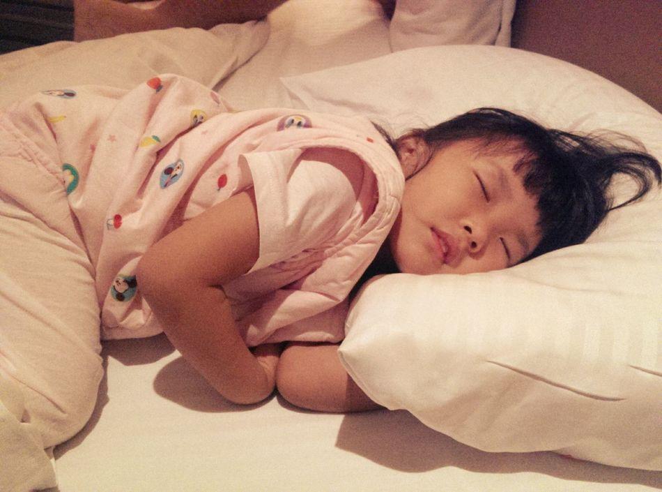 睡的香香甜甜