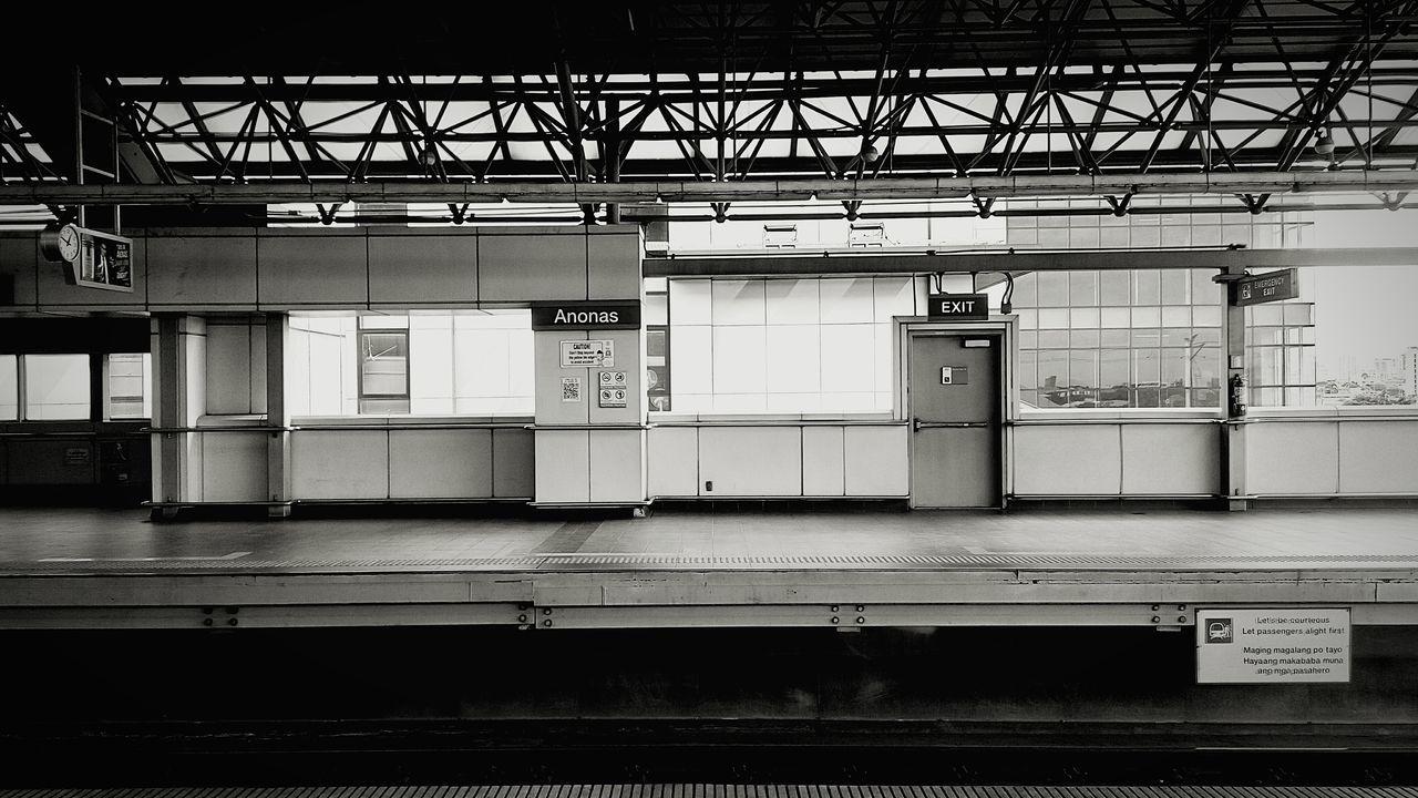 ANONAS Train Station Platform Train Station Platform Of Train Station Manila Philippines