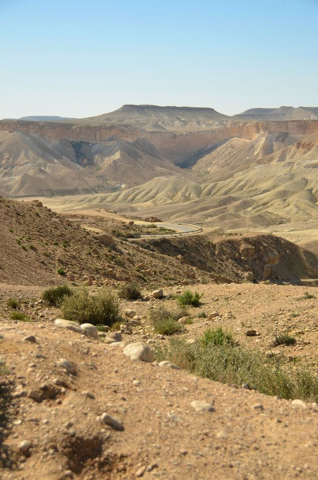 Desert Beauty Deserts Around The World Landscape Outdoors Physical Geography Sde Boker Travel Trip The KIOMI Collection
