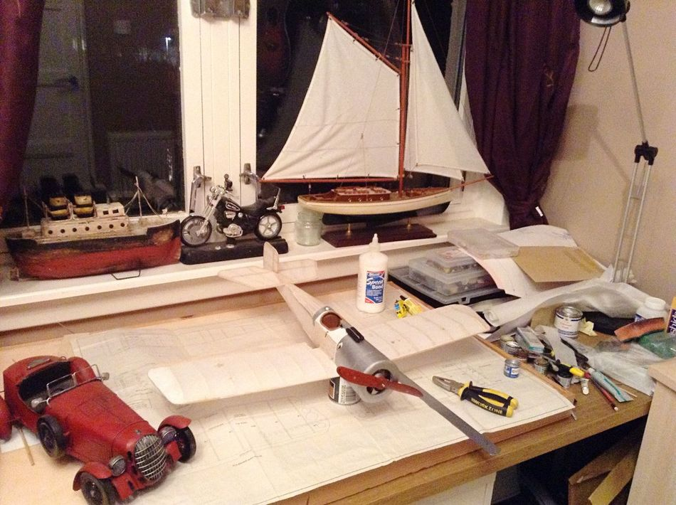 Make It Yourself Bristol Scout Nearing Completion, Ready For Takeoff Spring 2015
