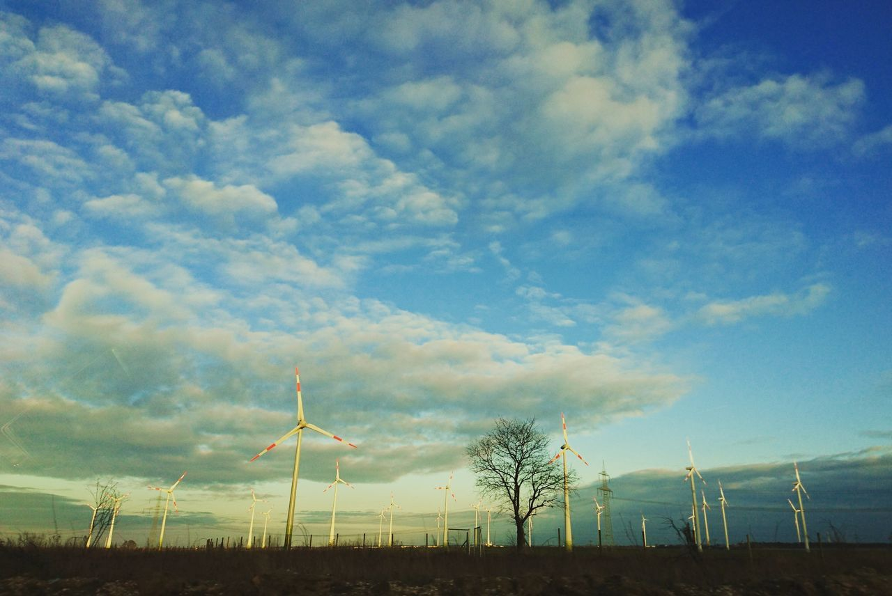 Sky Alternative Energy Wind Turbine Fuel And Power Generation Renewable Energy Wind Power Electricity  Power Supply Windmill Technology Rural Scene Outdoors Power In Nature Electricity Pylon Cloud - Sky Environmental Conservation Nature Sunset