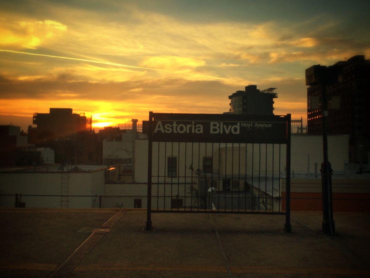 Queens New York Sunset Light