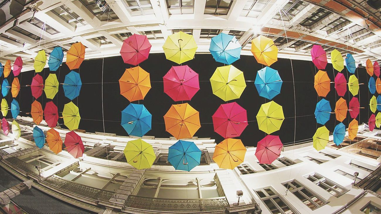 Showcase July Colorful Umbrellas Buildings Architecture EyeEm Gallery Eye4photography  EyeEm Best Shots