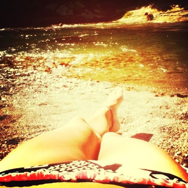 Chilling at the river :)
