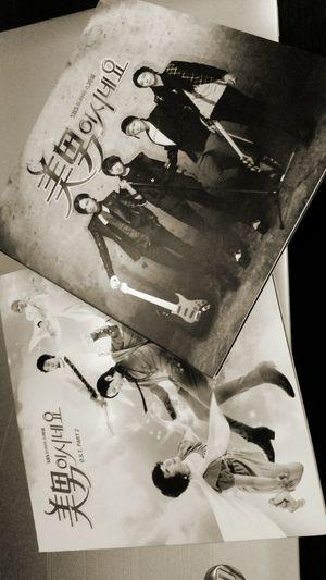 Jang Geunsuk K-drama Your Beautiful  CDs Soundtrack Black And White