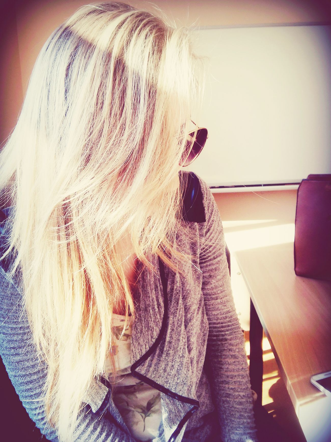 Blond Blonde Girl Blonde Hair Sunday Sunny☀ School Lithuaniagirl Friends ❤ Relaxing Taking Photos
