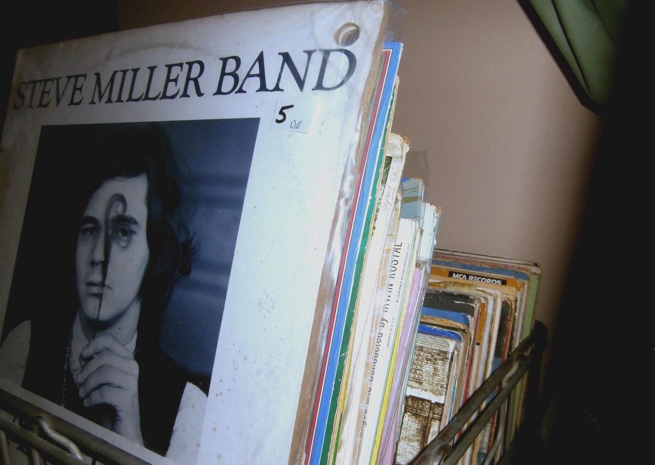 Darker Industrial Metal Music Records Retro Shadows Steve Miller Band Vintage Vinyl