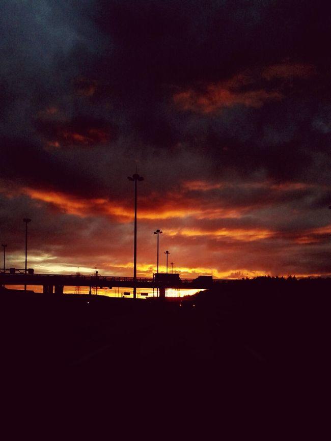 On The Road Roadtrip Sunset Road Trip Roads Sunset_collection Sun_collection Sunrise_sunsets_aroundworld