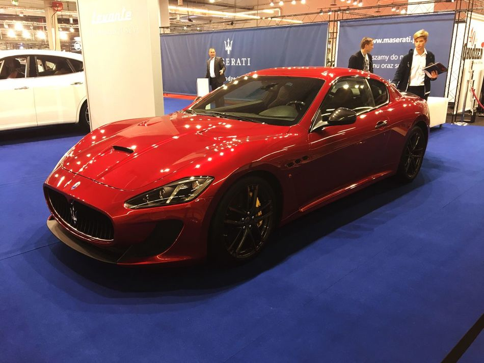 Fell in love with this car ! ... 😍 Red Car MASERATI Dream Motoshow Expo