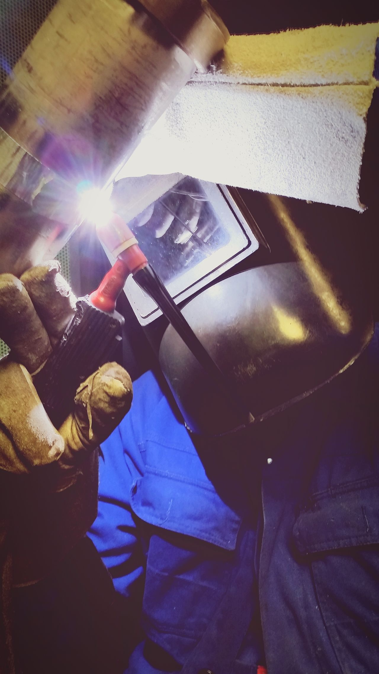 Learning the Weldingprocess and be a proud Welder to do a good Work. Weldporn