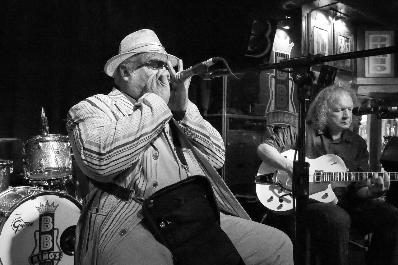 Blind Mississippi Morris performing at BB Kings Blues Club in Memphis, Tennessee. Arts Culture And Entertainment Beale Beale Street Beale Street! BealeStMemphisTN Black & White Black And White Black And White Photography Blind Mississippi Morris Blues Harp Blues Music Grayscale Greyscale Harmonica Blues Memphis Memphis, TN Memphis,tn Memphisphotographer Music Musical Instrument Musician My Hometown Nightclub Photography Performance Performing Arts Event TakeoverMusic