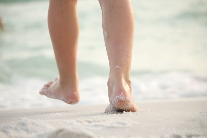 EyeEm Selects Beach Barefoot Low Section Human Leg Sand Limb Vacations Human Foot Summer One Person Human Body Part Wet People Sea Outdoors Travel Females Vitality Walking Child Connected By Travel Lost In The Landscape Beach Photography Healthy Lifestyle