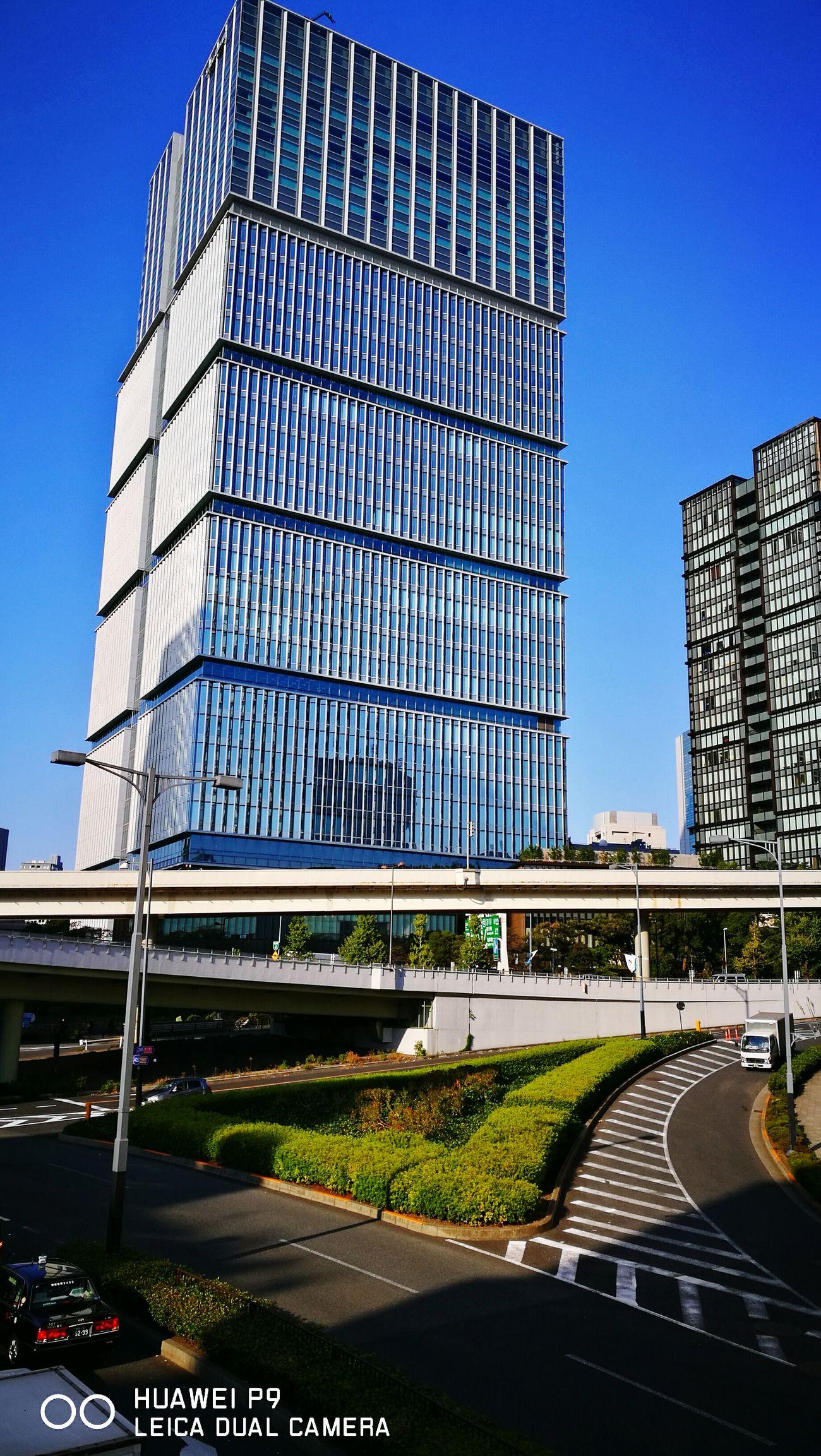赤坂見附 Akasakamitsuke crossing, Tokyo City Architecture Sky Tokyo,Japan