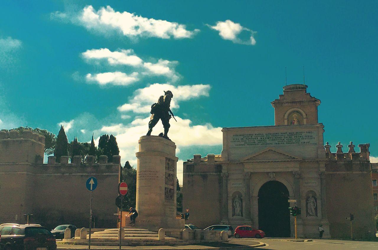 Roma Rome Romestreets Porta Pia Bersagliere Piazza Di Porta Pia Pastel Power