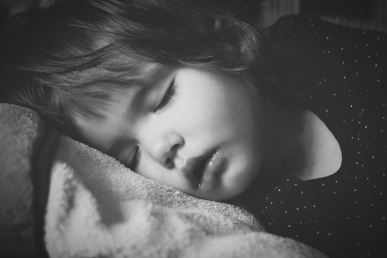 Baby Baby Girl Small Sleeping Dreaming Calm Calmness Sweetness Cute Black And White Monochrome Portrait People Person Close-up Face Tranquil Resting Having Rest Market Reviewers' Top Picks Having Nap Kids Of EyeEm Kids Kids Portrait Feeling Comfortable