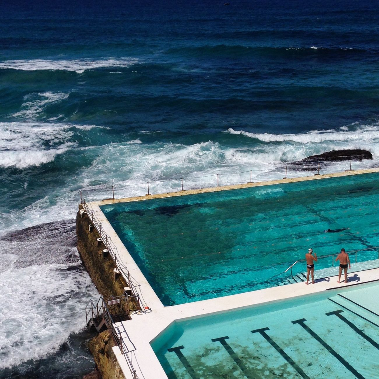 Bondi Beach Icebergs Sydney Pool Ocean Pool People Of The Oceans