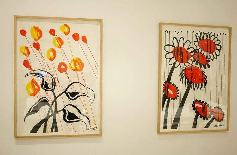 Exposition temporaire Calder au Musee Soulages Rodez - Museum Painted Image Arts Culture And Entertainment Creativity Modernart Aveyron Art Rodez Abstract Abstrait Abstractart Gouache Painting Painting Gouache Painting Art Geometry Geometric Color Colors Indoors  Flower Flower Head