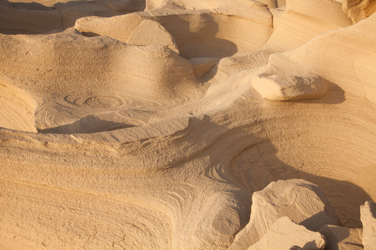Arid Climate Beach Day Desert High Angle View Landscape Nature No People Outdoors Pattern Sand Sand Dune Sand Texture Shadow Sunlight Texture Tranquility