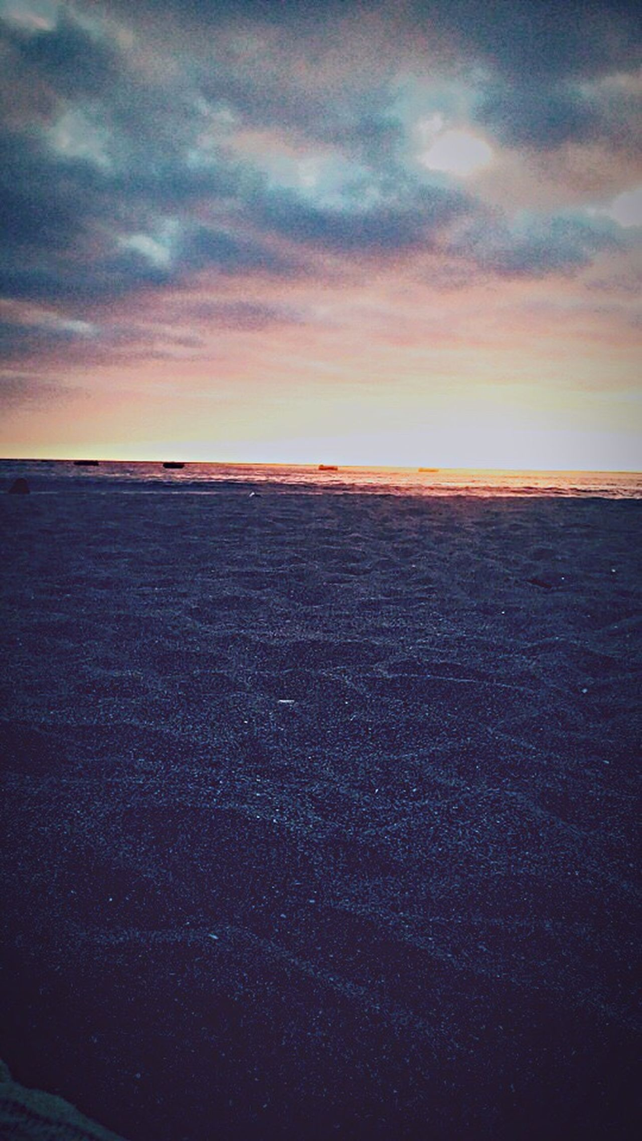 Beach📸🌊🌅 Sunset Sky Tranquility Beach