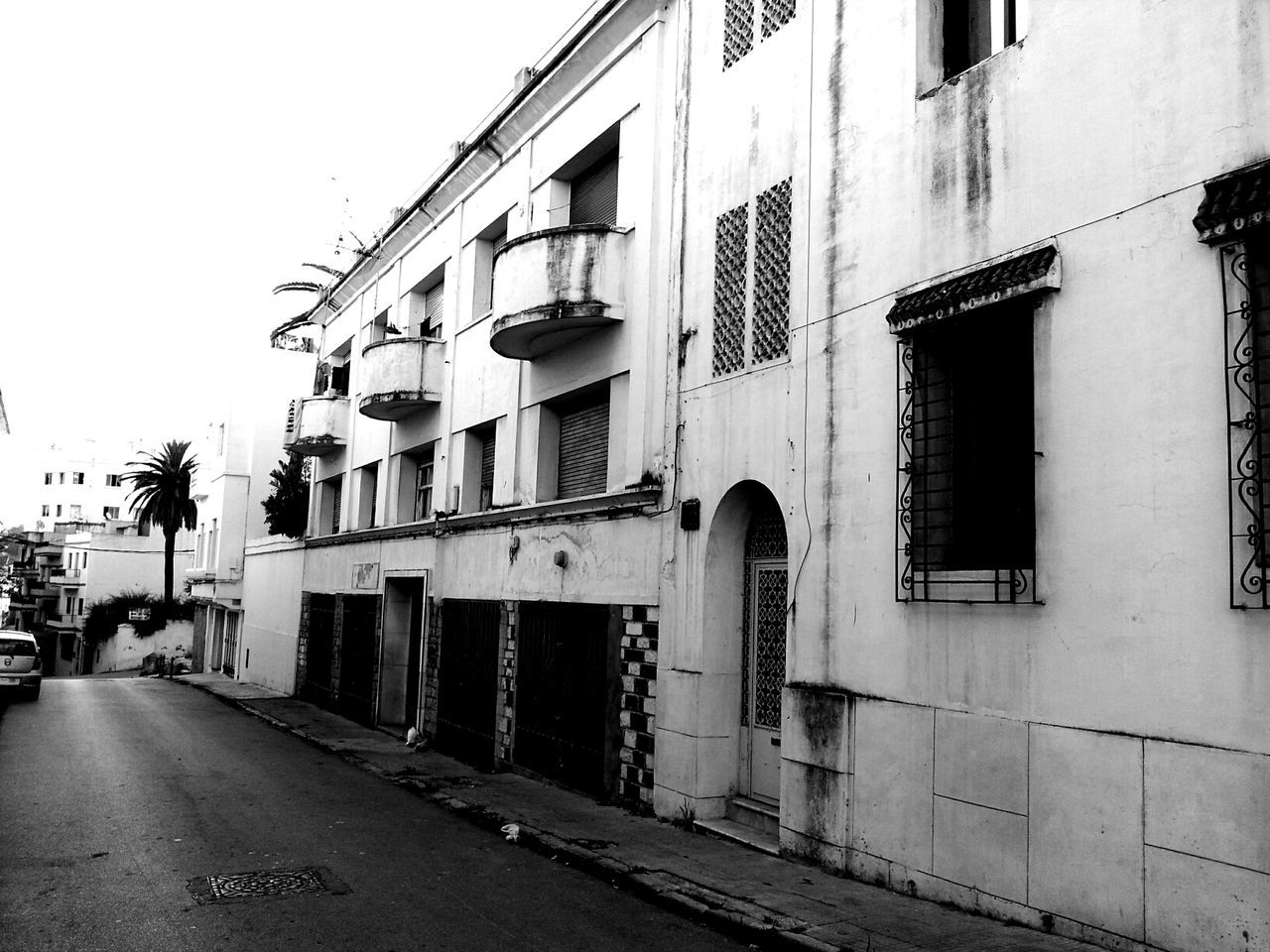 Deserted houses in the north! Streetphotography Blackandwhite Monochrome Shootermag