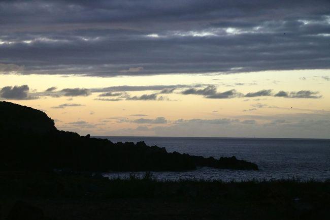 Sunset Azores Pico Island PicoIsland Portugal Azores,pico Mountain Vulcano Island Sky Water Nature Sea Atlantic Ocean Canon 70d Canonphotography Nature Photography Summer Horizon Over Water