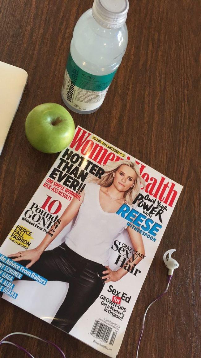 Saturday Essentials Women's Health Vitaminwater Apple