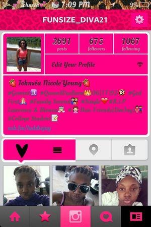 follow me on instagram @funsize_diva21 make that
