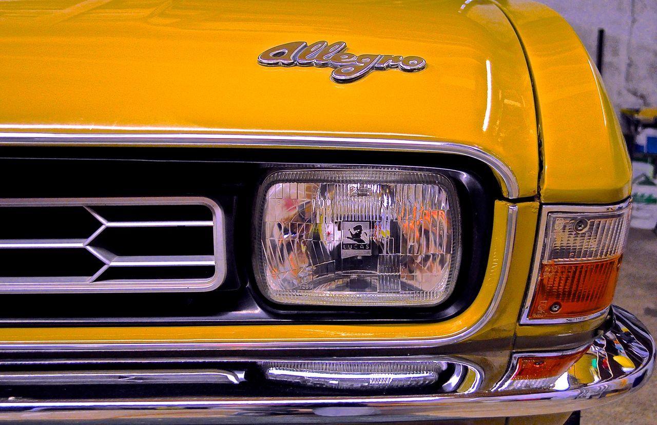 Allegro Austin Classic Car Vintage Vintage Cars