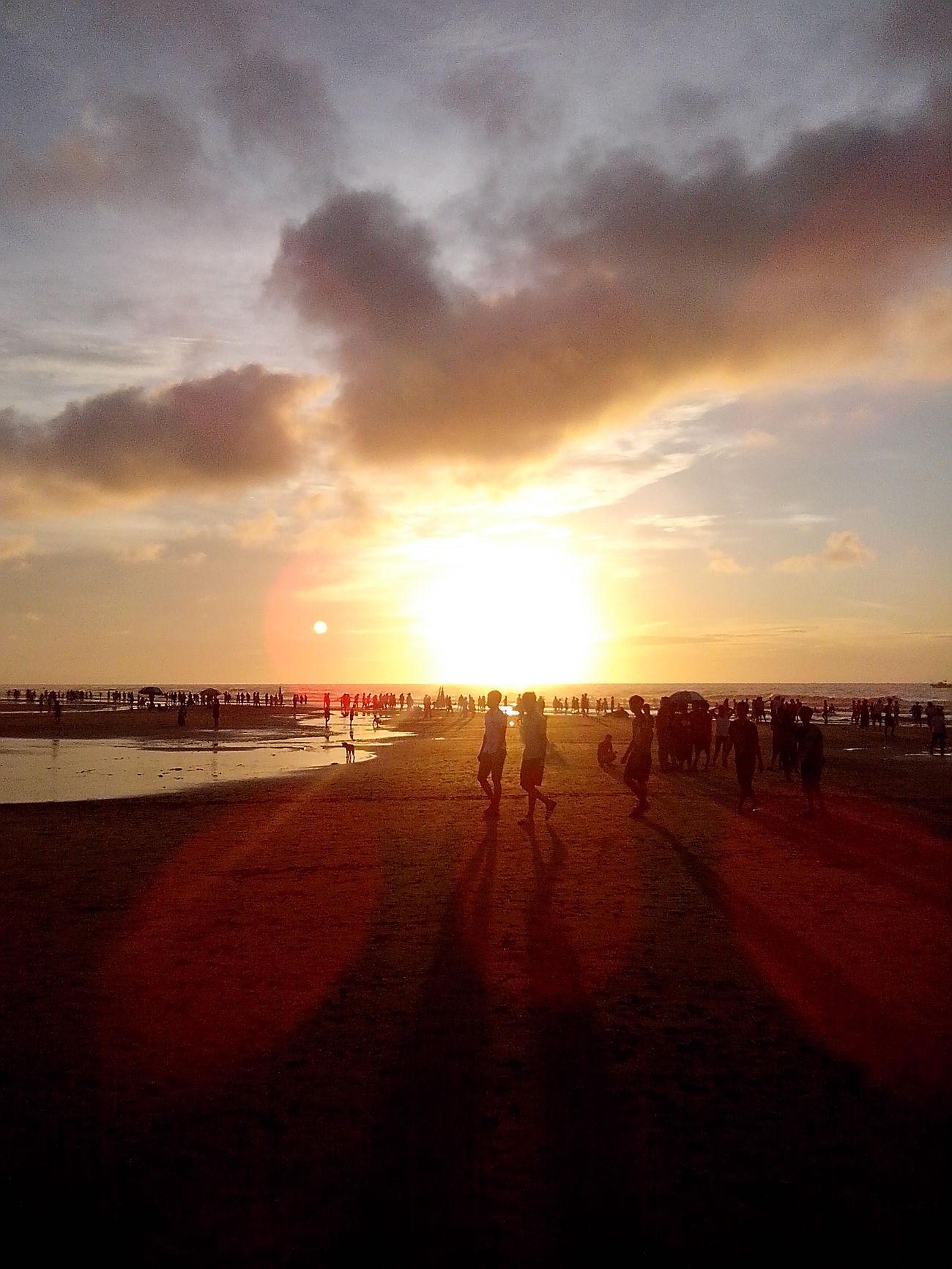 Sam Son beach in Thanh Hoa province, Viet Nam