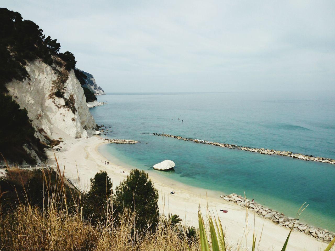 💕 Conero Numana Mare EyeEmNewHere Nature Beautiful Taking Photos Outdoors Tranquility Sea And Sky Monte Monte Conero Beautiful Sea View Scenics Close-up Costa Adriatic Sea