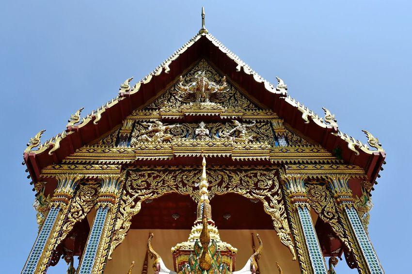 Wat Prae Laem Architecture Low Angle View Thailand Thailand_allshots Koh Samui Buddhism Temple