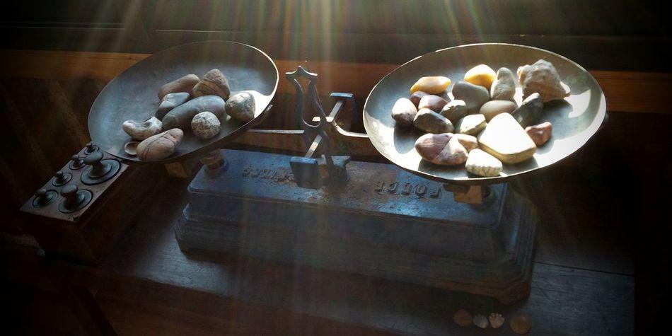 Equilibrium Balance Balancing Elements Old Balance Equal Ilumination Colored Lights Sun Light Warm Light