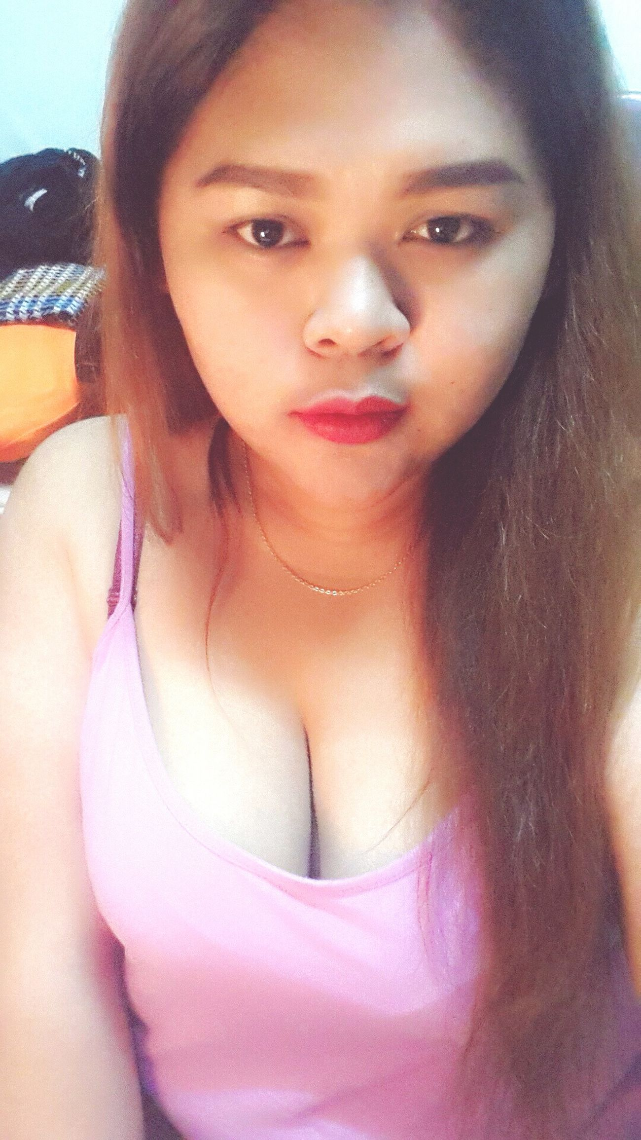 good evening! Red Lips Chillin At Home Kiss Me That's Me Fatttty Bangkok Thailand.