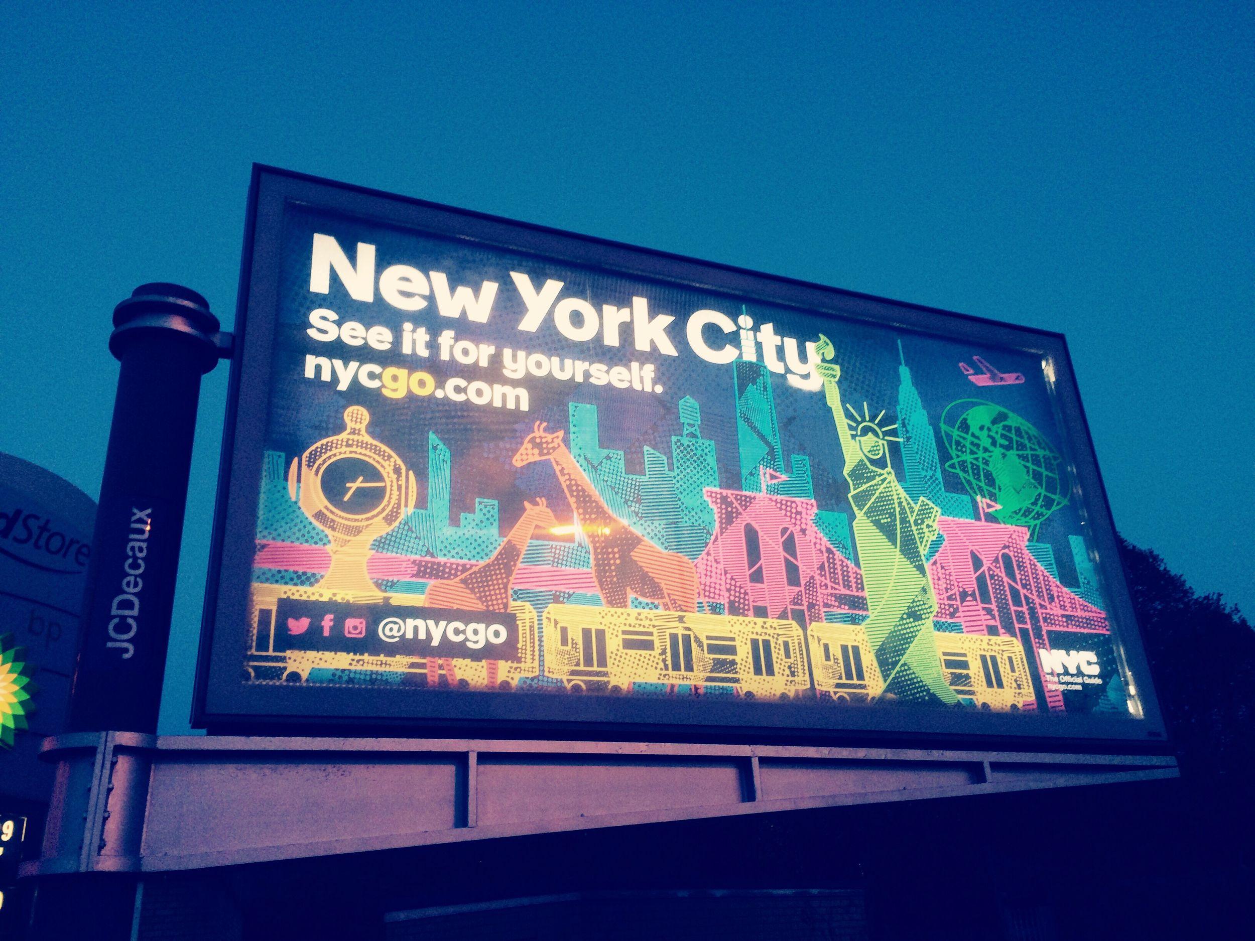 GLASGOW CITY NYC Billboard Nycgo