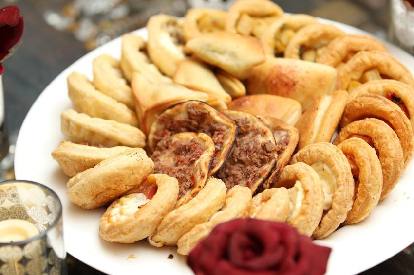 Food Close-up Pasteries Plate Table Bread 😚 Ramadan