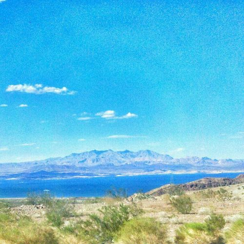 Mountain Lake Land And Sky On The Road Southwest <3
