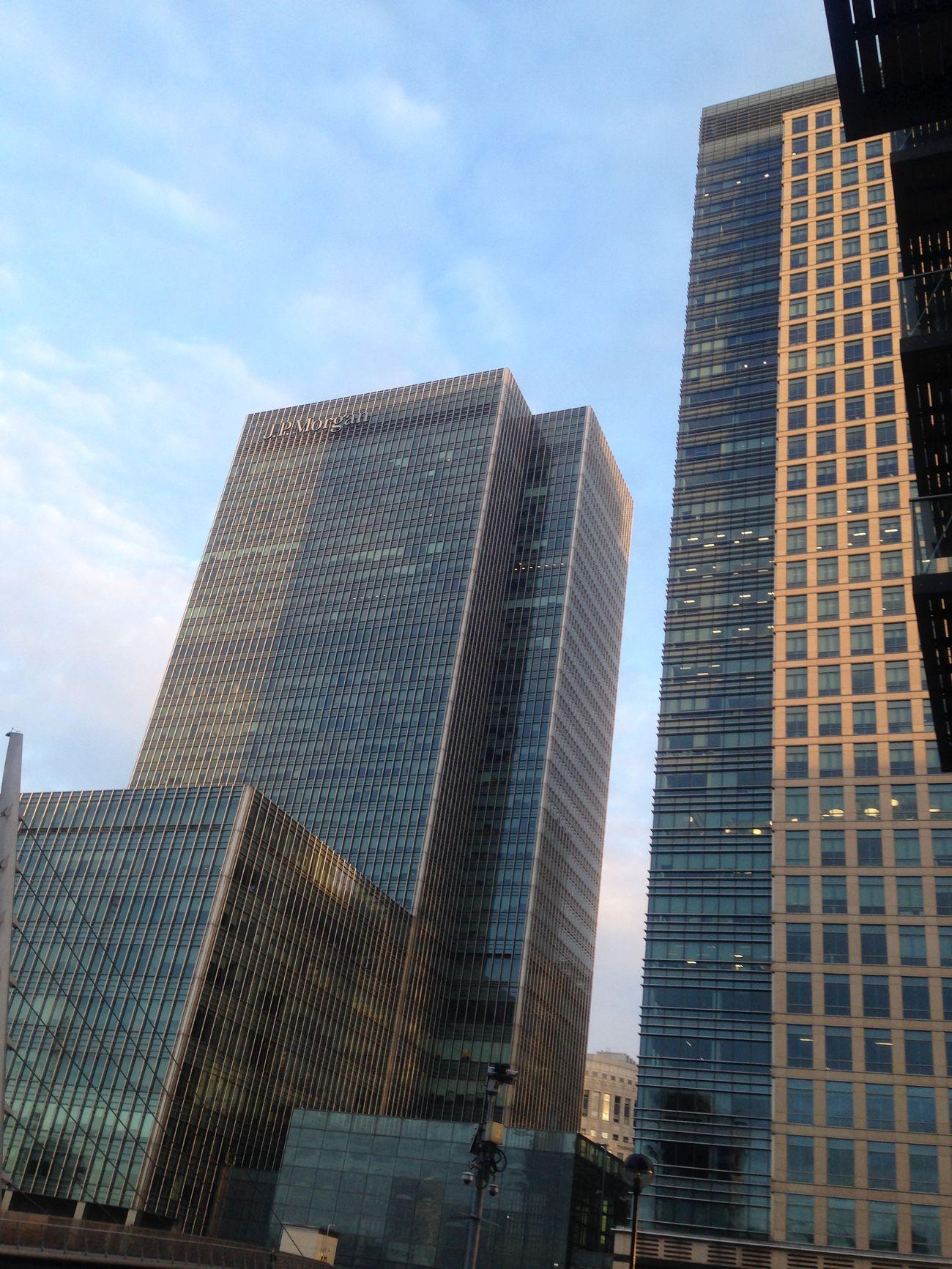JP Morgan West India Millwall Docks London