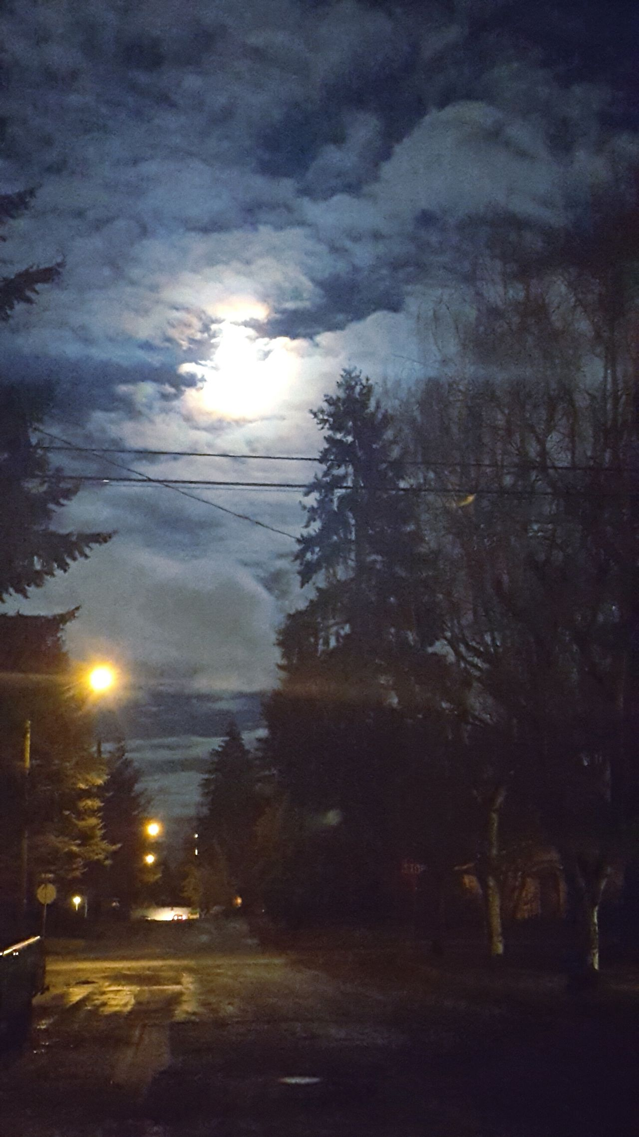 """ Snow Moon."" Lunar Photography Lunarshots Snowmoon Fullmoon Clouds Night Cloudsandsky Tree Moonlight Moonshine Moonbeauty Moonphotography Moon_lovers EyEm New Here"