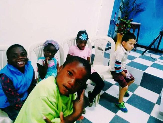Niñosfelices Niños Afrocolombian
