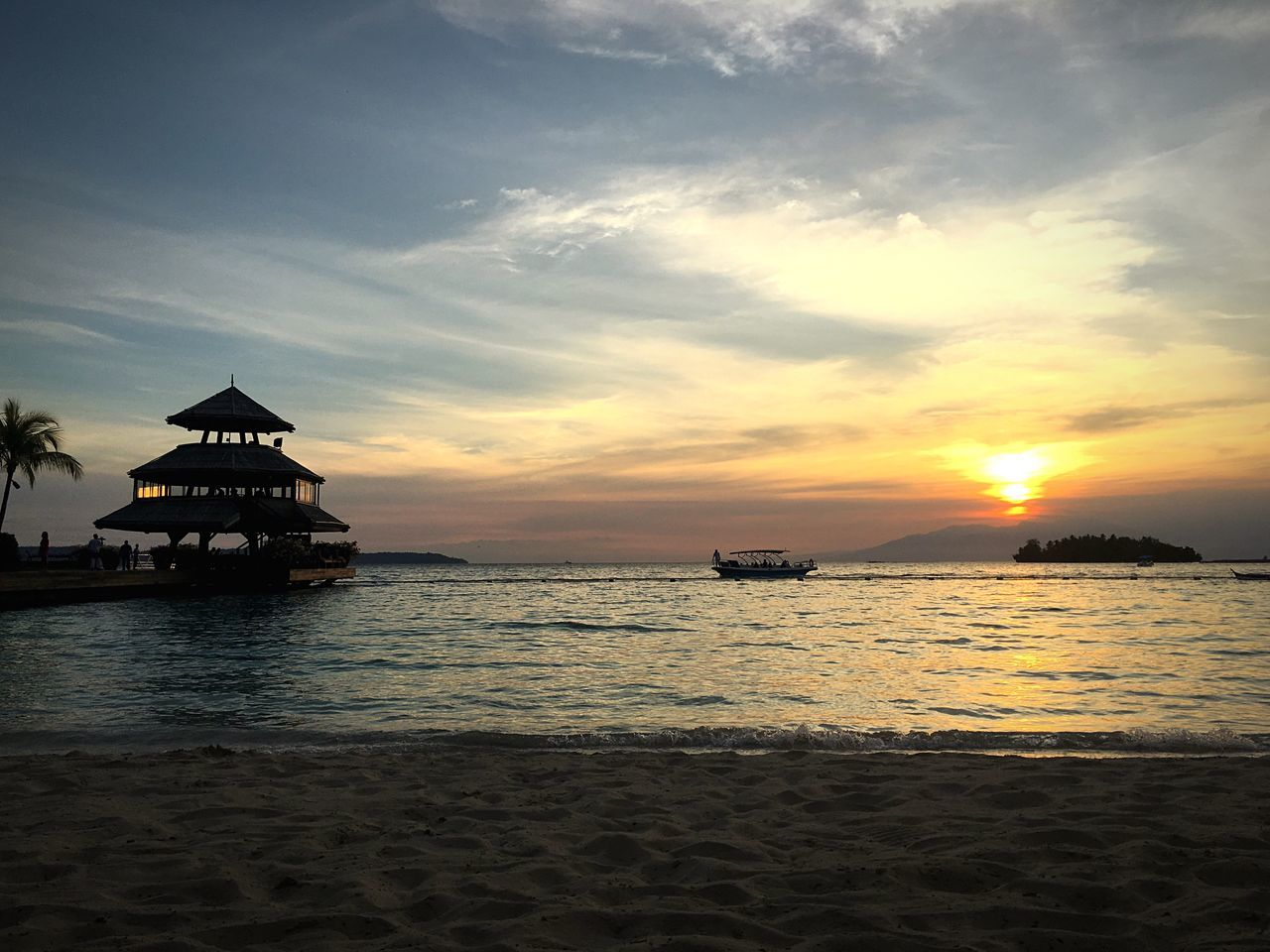 Sunset Beach Philippines Davao Water Season
