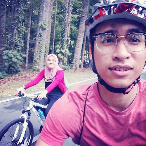 Cycling with my LOVE one. Hanging Out !! First Eyeem Photo