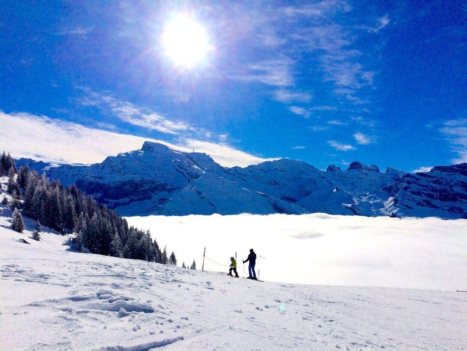 Fun Snow ❄ Swizerland Engelberg Heartlake with Good Friends & JUBLA