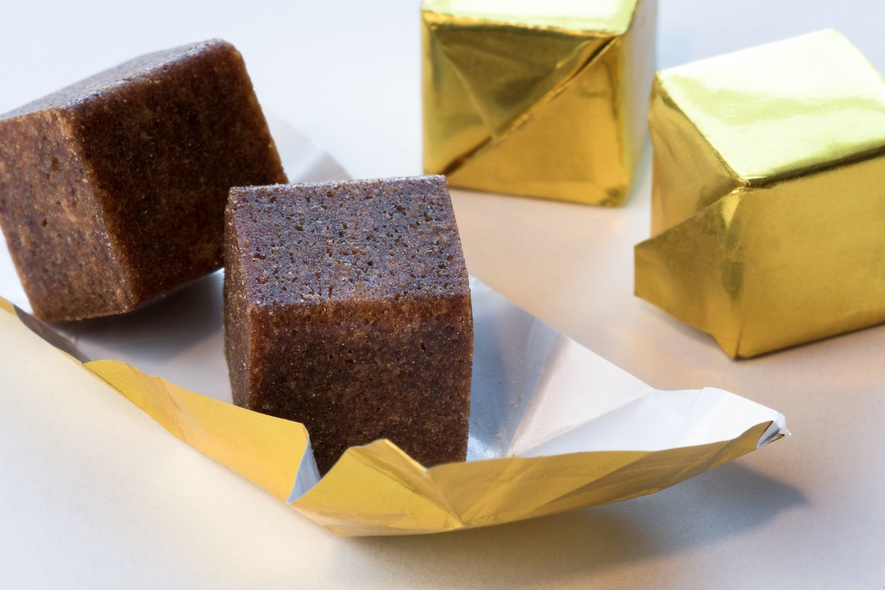 Boulillon Cubes Squares Beef Chicken Flavor Broth Stock Ingredient Close-up Brown Food No People Food Photography