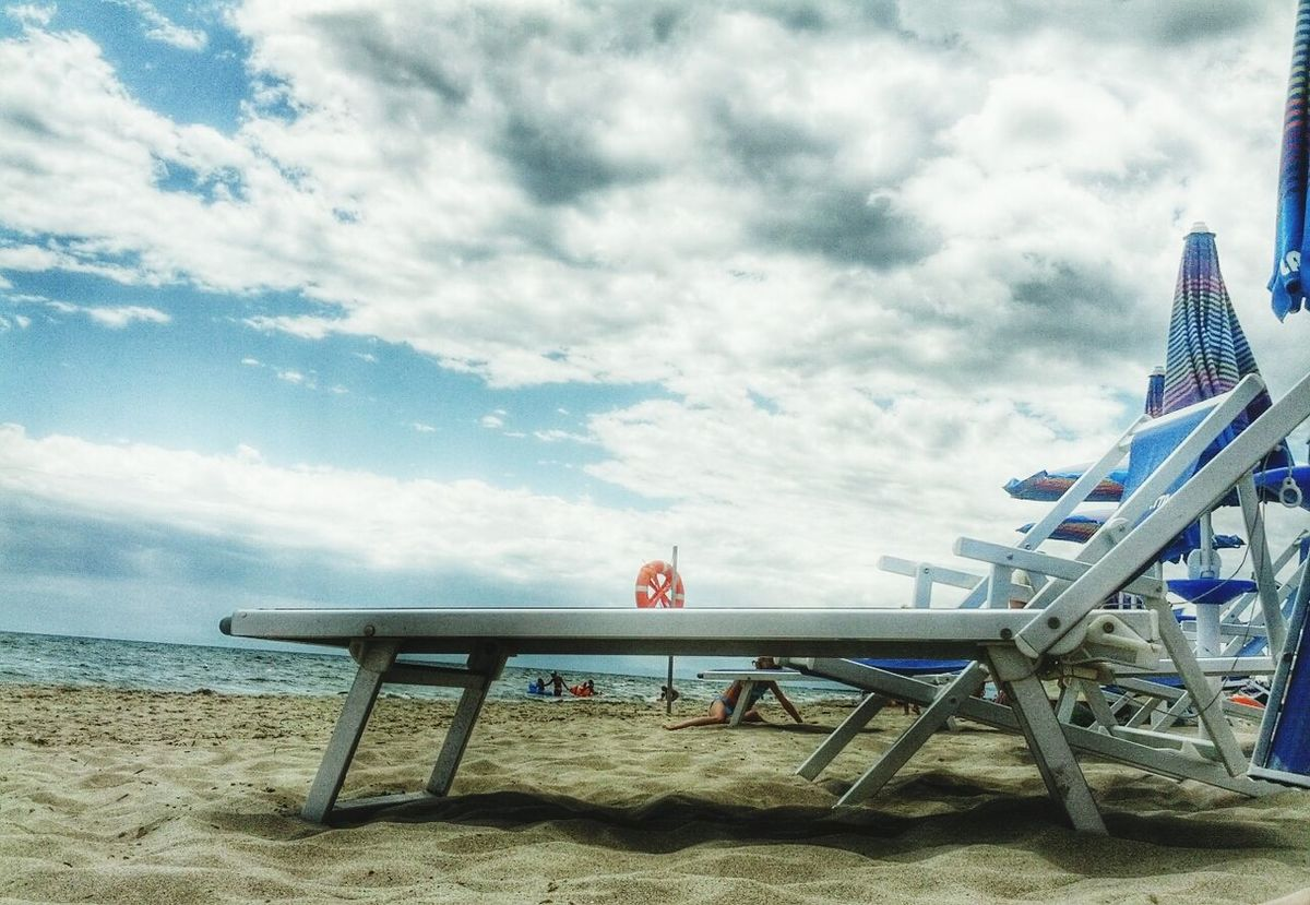 Life Is A Beach Relaxing Sea And Sky Popular Photo