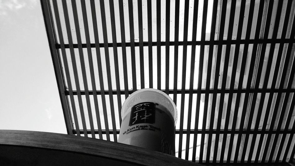 Coffee Coffee Cup Coffee Break Coffeelovers City Life City Center Building Exterior Eyeemphoto Myanmarphotos Randomphotography EyeEmgraphy Low Angle View Alone Black And White Bnw_universe Bnw_collection