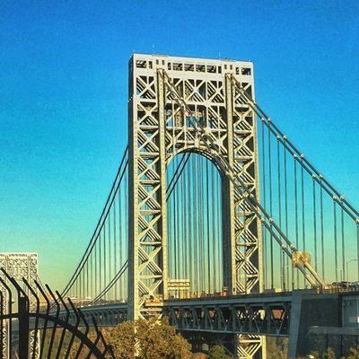Nycprimeshot Nyclovesnyc Icapture_nyc NYC Manhattan GeorgeWashingtonBridge GWB Grammaster